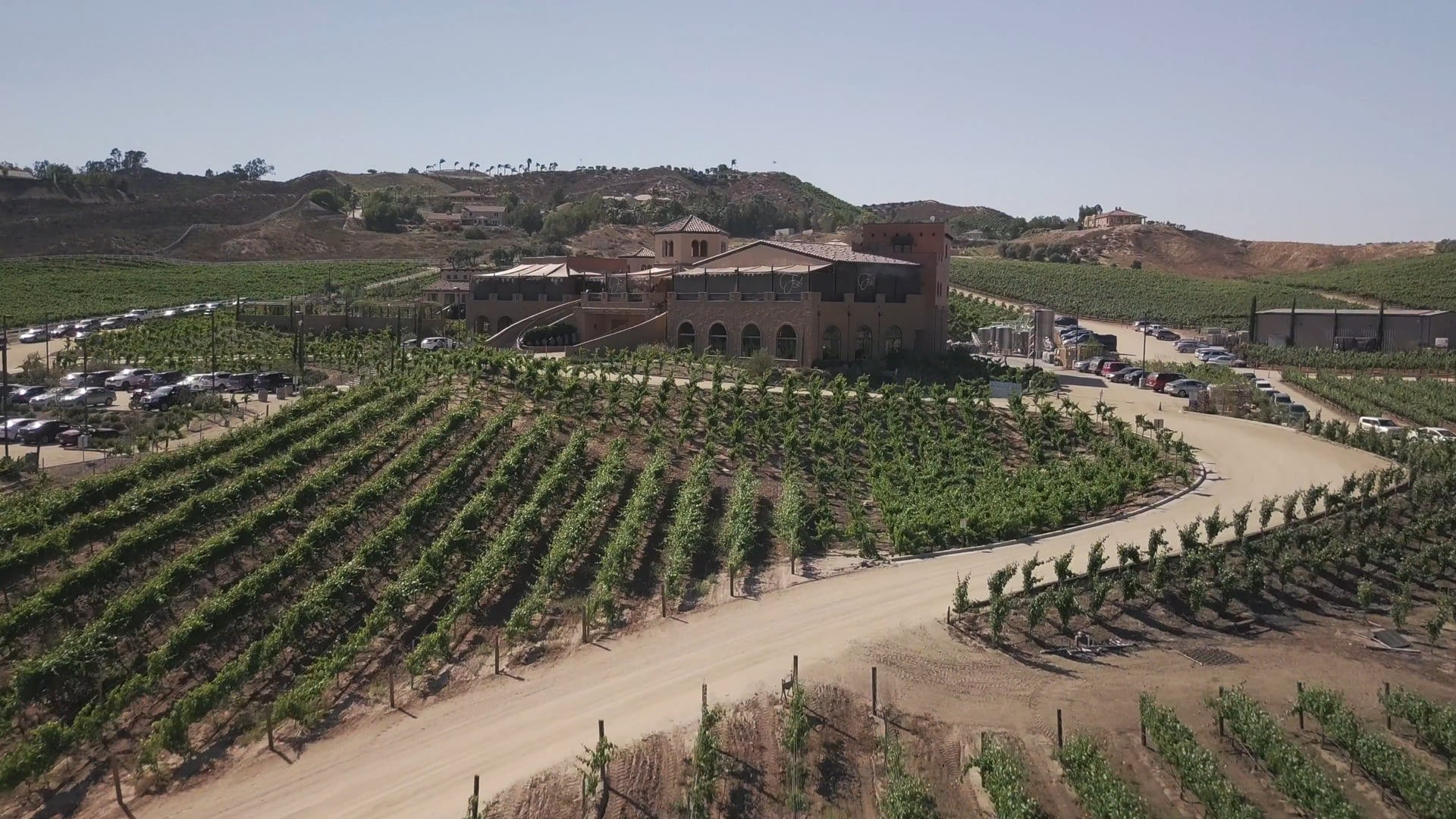 Winery Drone Video