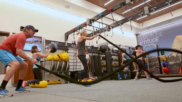 Pivot Studio | Racquetball Conversion by Zenergy Health Club