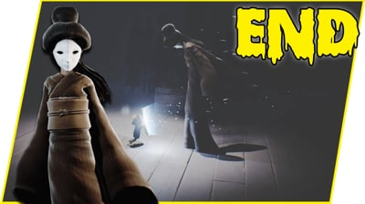 BATTLING THE CREEPY EVIL LADY - Little Nightmares Gameplay FINALE