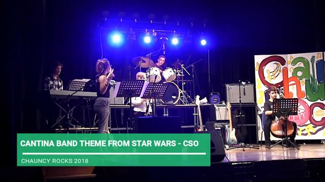 CANTINA BAND THEME FROM STAR WARS - CSO