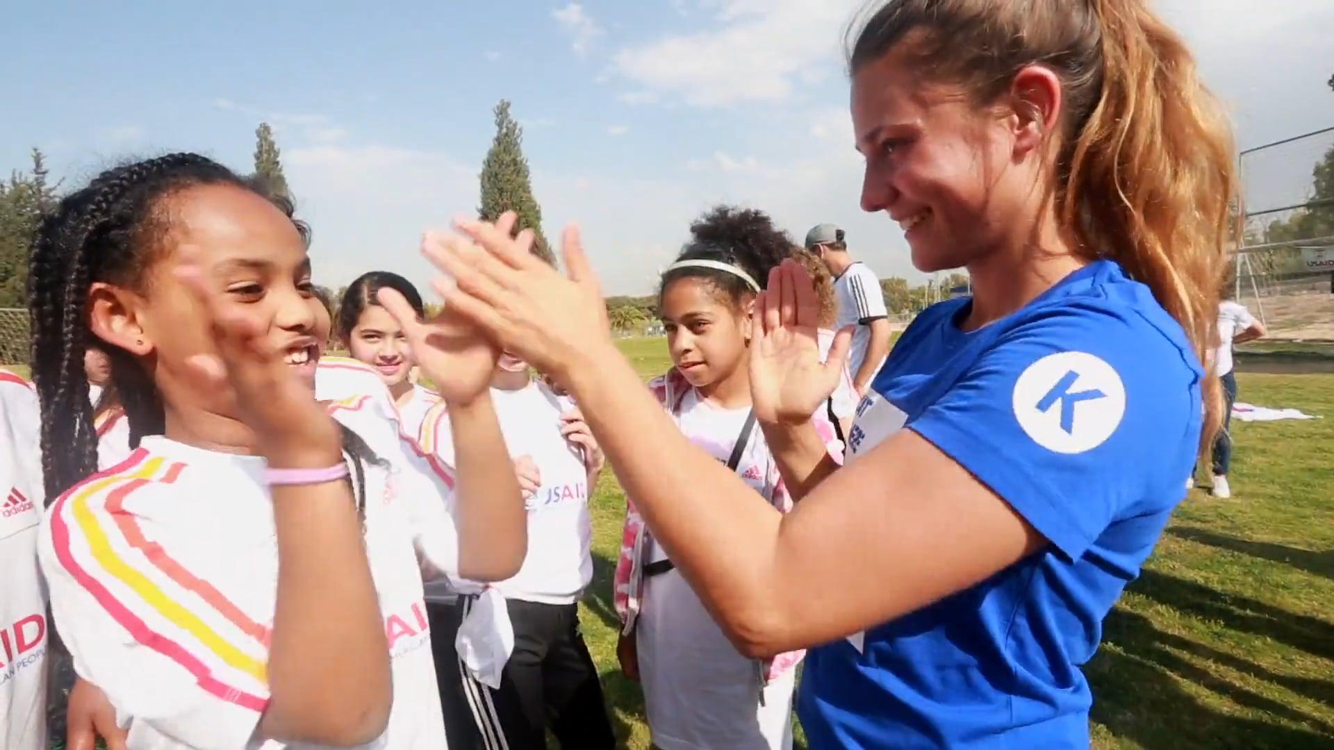 Peres Center Girls Adidas Camp 2017