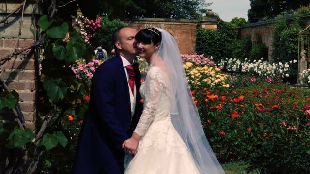 Chrissie and Steve's Hever Castle Wedding Highlights