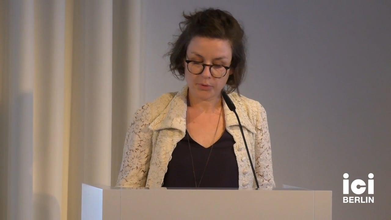 Introduction by Julie Gaillard