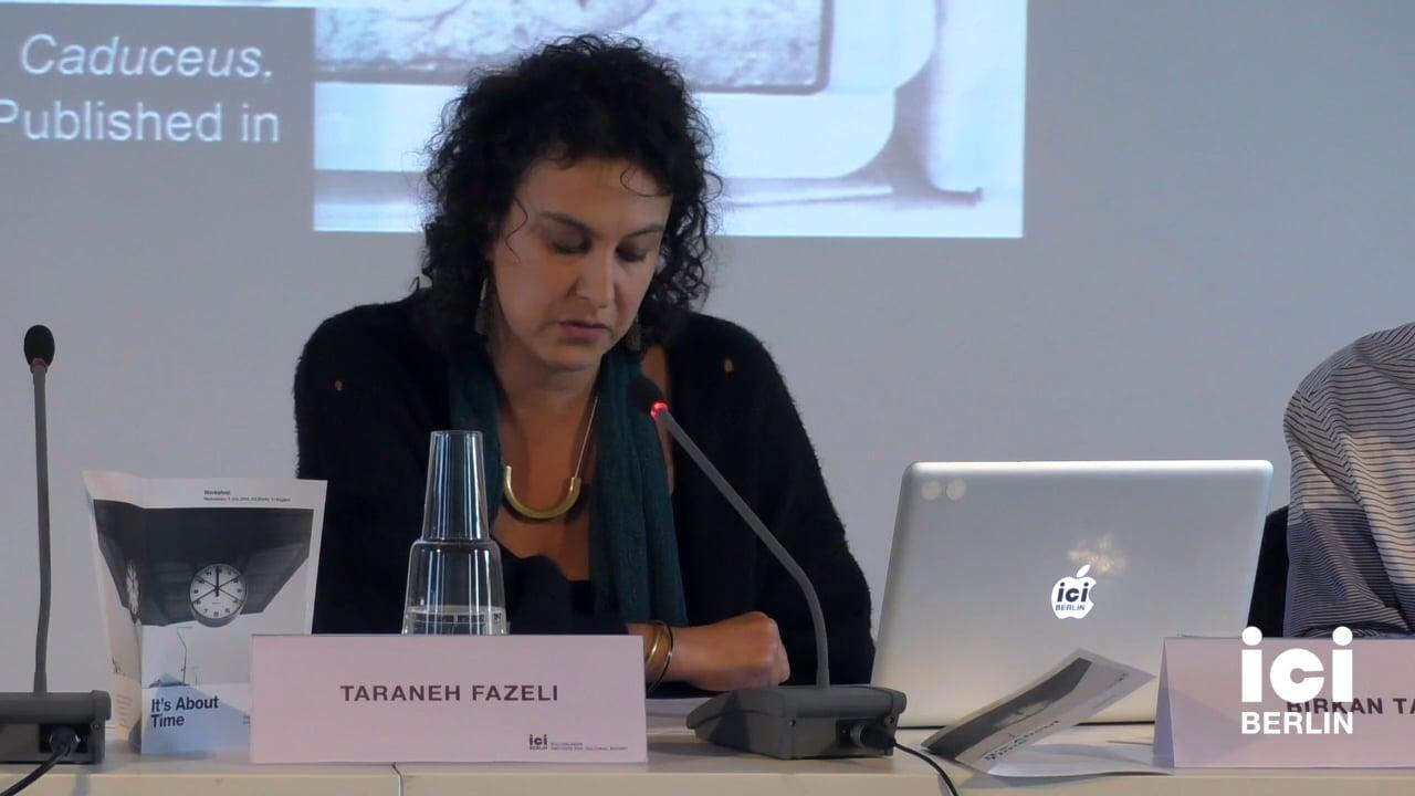 Response by Taraneh Fazeli (Panel I)