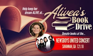 Alivea's Book Drive Supporting Late Teen's Mission