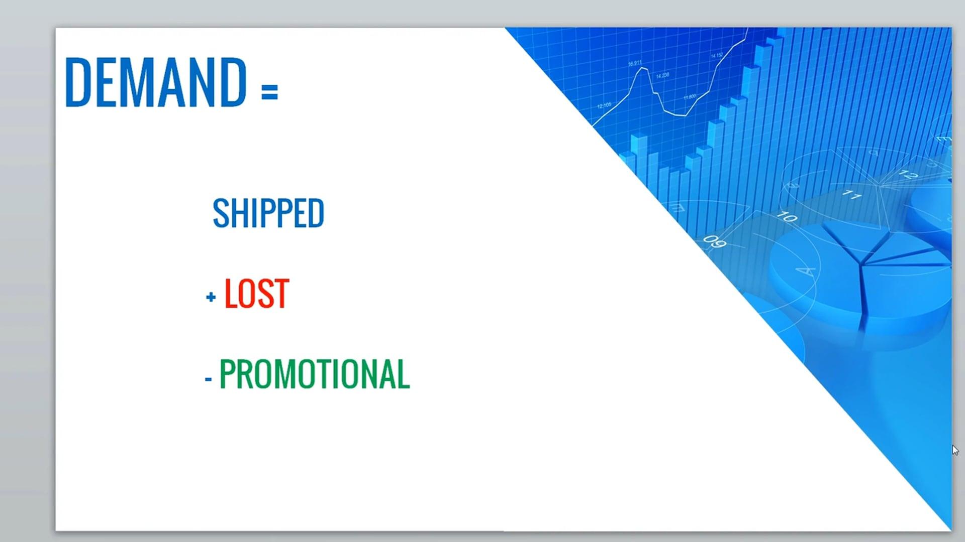 SI 9 - E3 Dem Forecast Screen P1