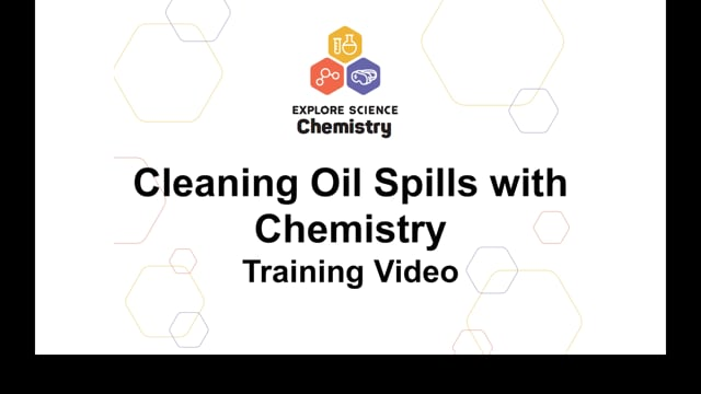 Cleaning Oil Spills with Chemistry Training Video