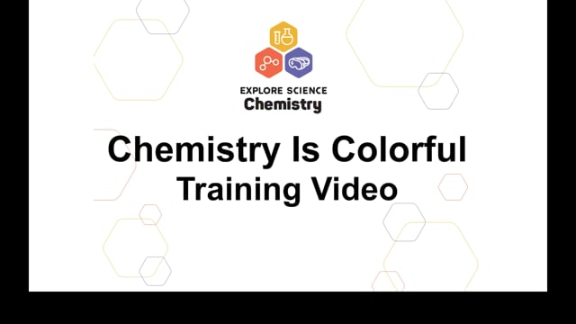 Chemistry is Colorful Training Video