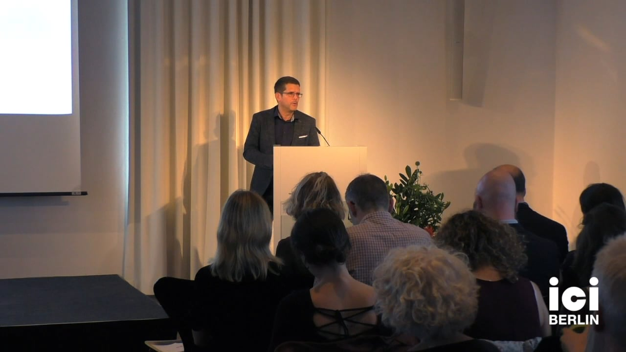 Introduction by Hansjörg Dilger (III)