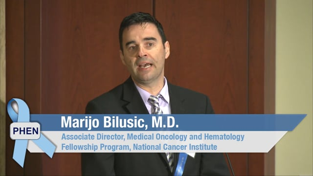 Research and Prostate Cancer Clinical Trials with Dr. Marijo Bilusic