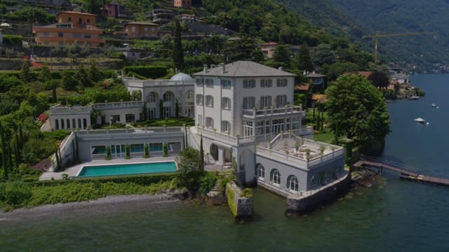 Gorgeous lakefront trophy estate in Laglio