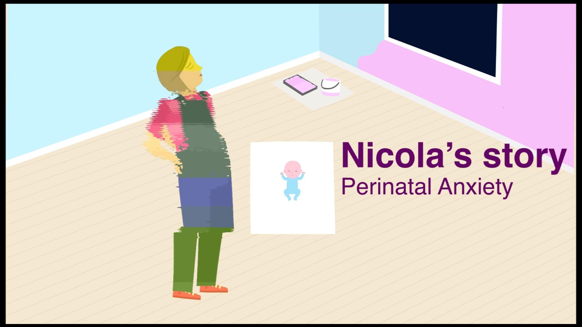 Nicola's story - Perinatal anxiety