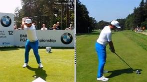 Swing Analysis - Francesco Molinari