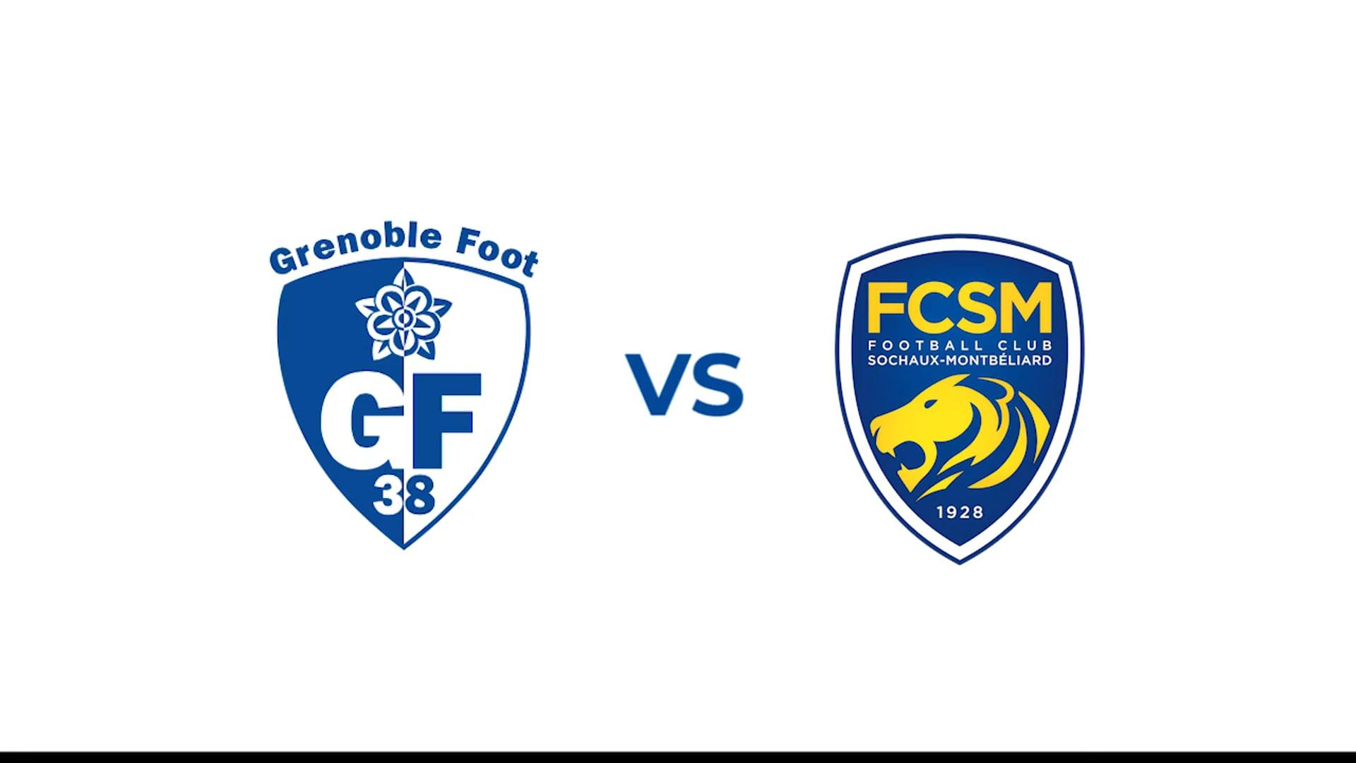 Teaser: GF38/ FC Sochaux (ligue 2)