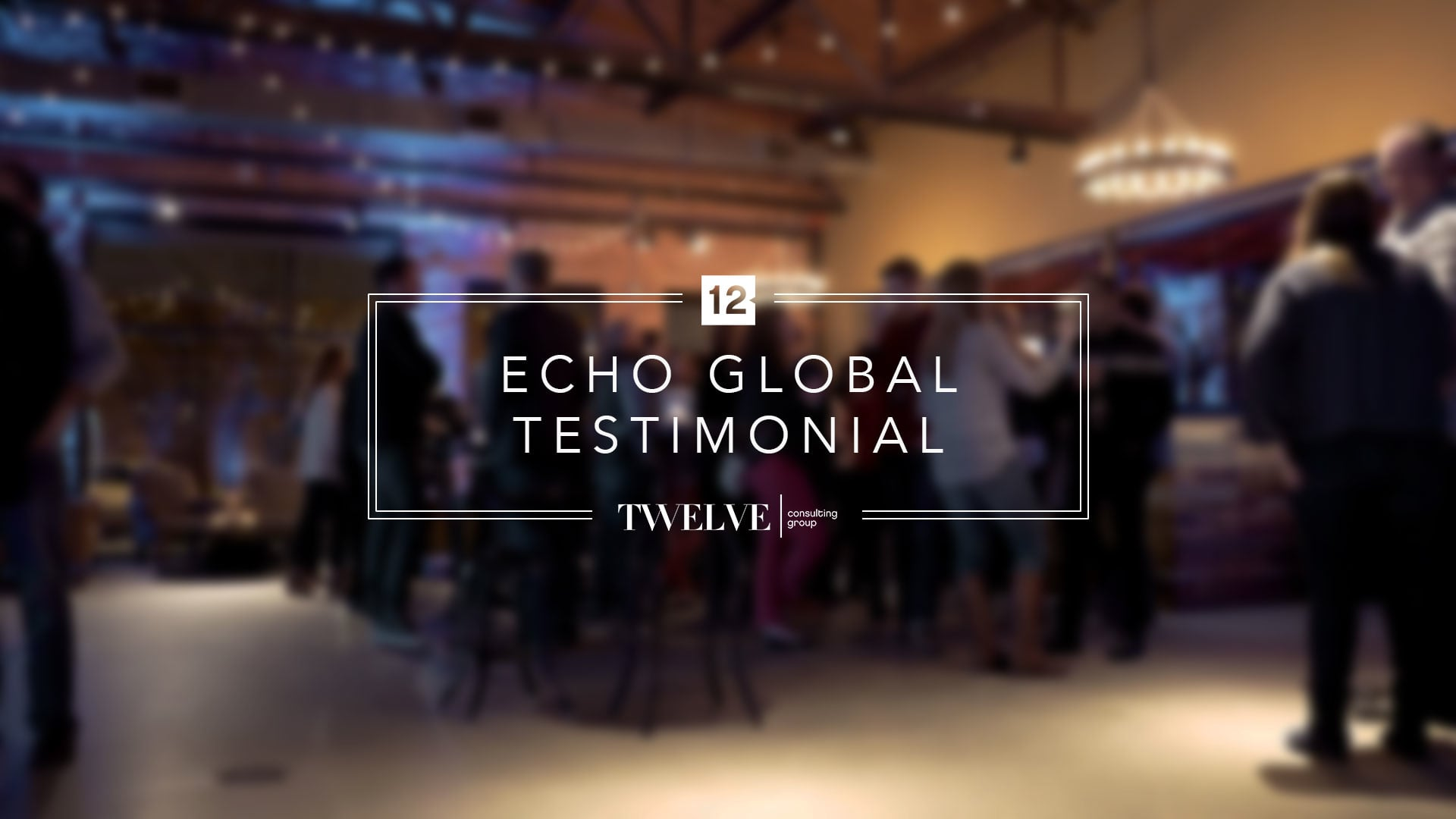 Customer Testimonial - Echo Global