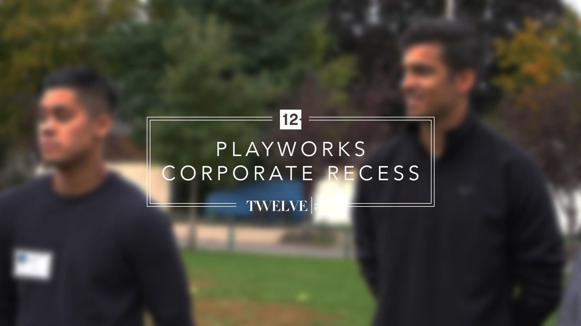 Playworks Corporate Recess