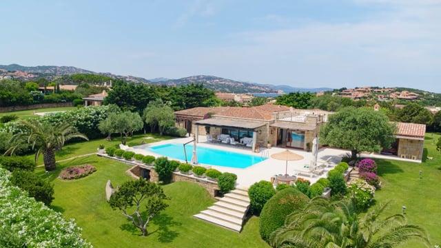 Stunning villa close to Marina di Porto Cervo
