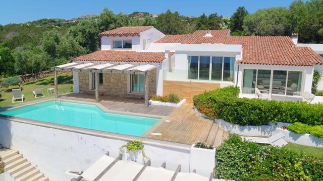 Magnificent Villa on the Pevero Hills