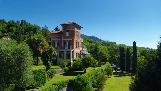 Art Nouveau villa on Lake Maggiore