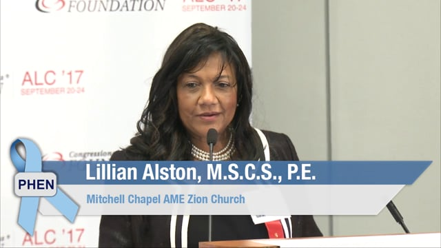 Educating and Mobilizing Black Communities on Prostate Cancer with Ms. Lillian Alston