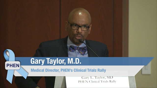 Prostate Cancer Clinical Trials – PHEN's Rally Update and Next Steps with Gary L. Taylor, MD