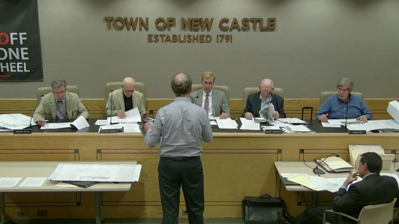 Town of New Castle Zoning Board Meeting 7/25/18