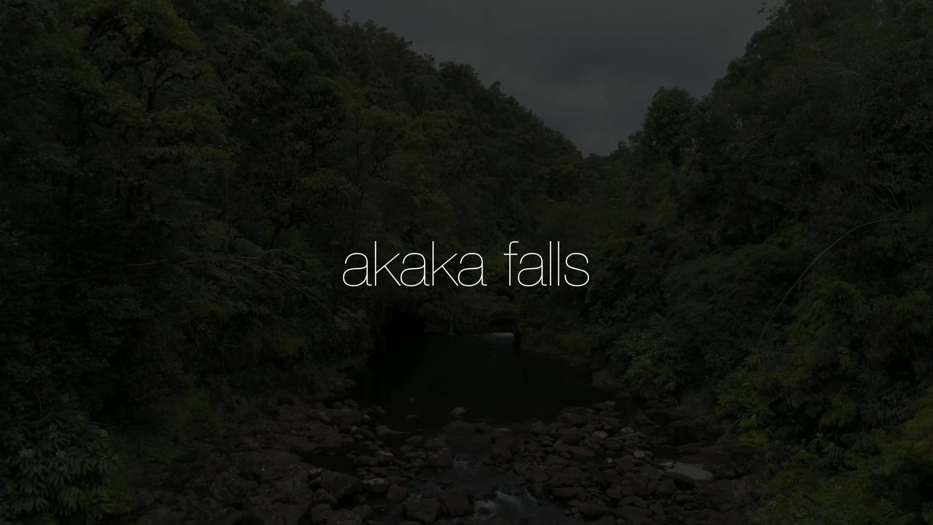 Akaka Falls With Sounds