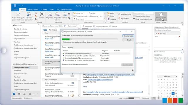Outlook: Plantillas y Reglas (respuestas automáticas)