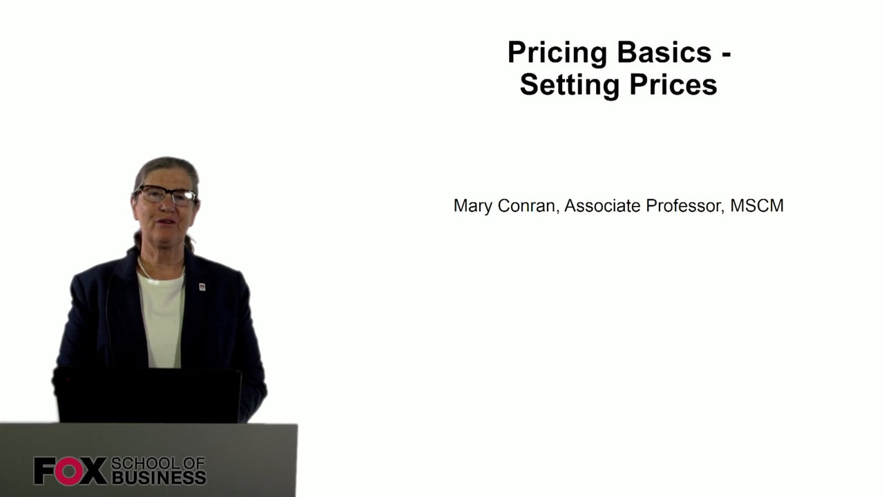 60822Pricing Basics – Setting Prices