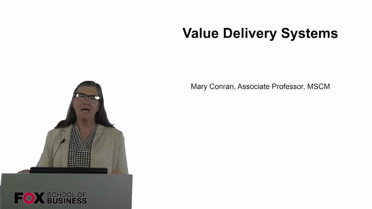 60813Value Delivery System