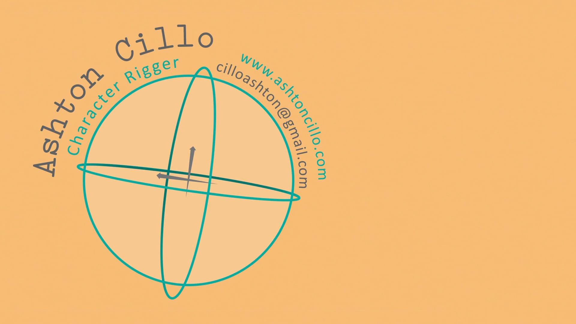 Ashton Cillo Character Rigging Reel