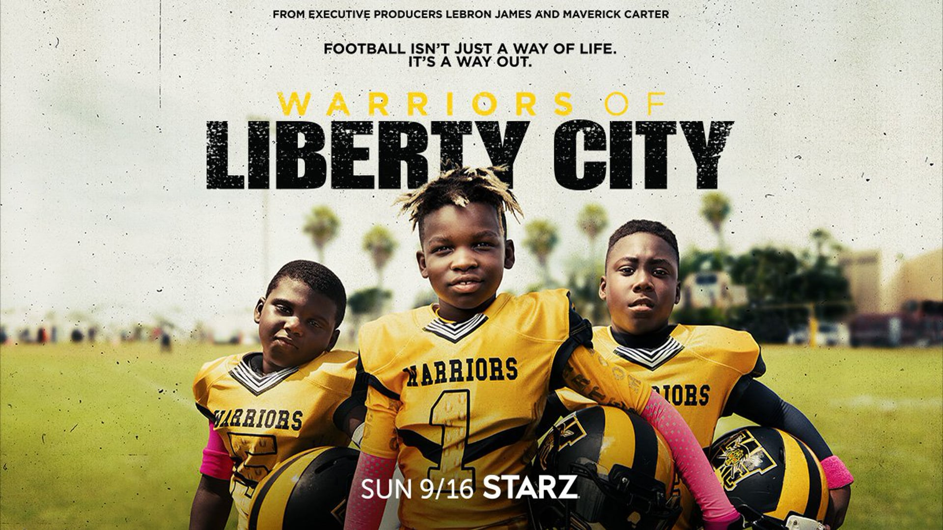 'Warriors of Liberty City' Official Trailer | STARZ Docuseries