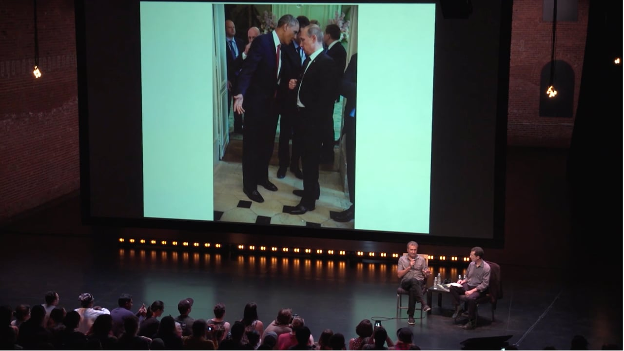 Reading the Pictures: Pete Souza and Michael Shaw –Photoville 2017