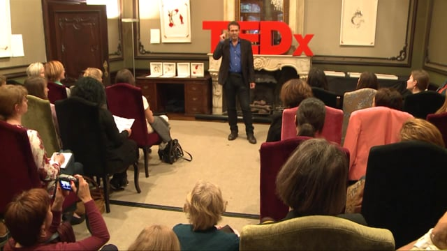 """Paul Koeck, MD's TEDx talk about 'How to reduce your stress with """"15Minutes4Me.com"""" '"""