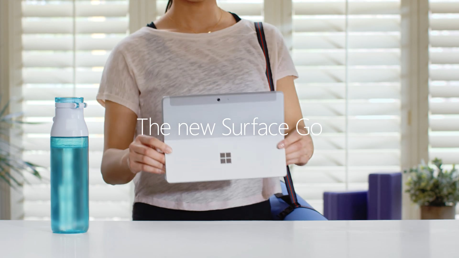 The new Surface Go: Work and play on the go