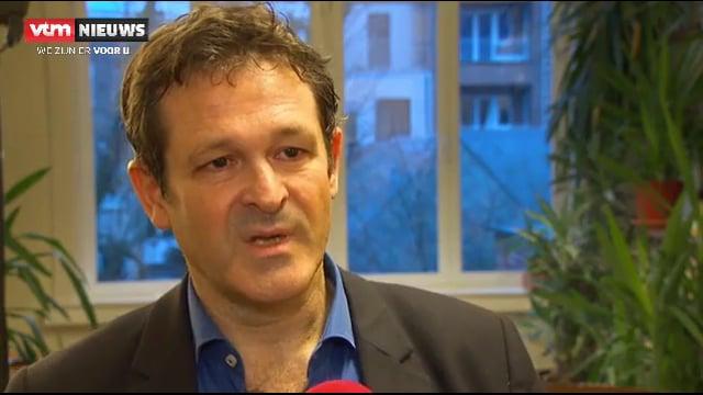 Dr. Paul Koeck op het VTM avondnieuws