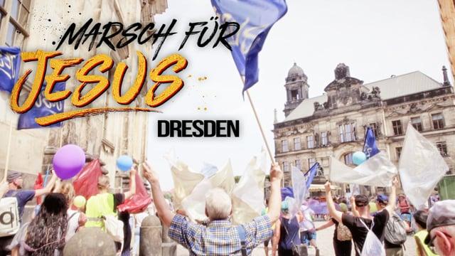 Marsch für Jesus in Dresden