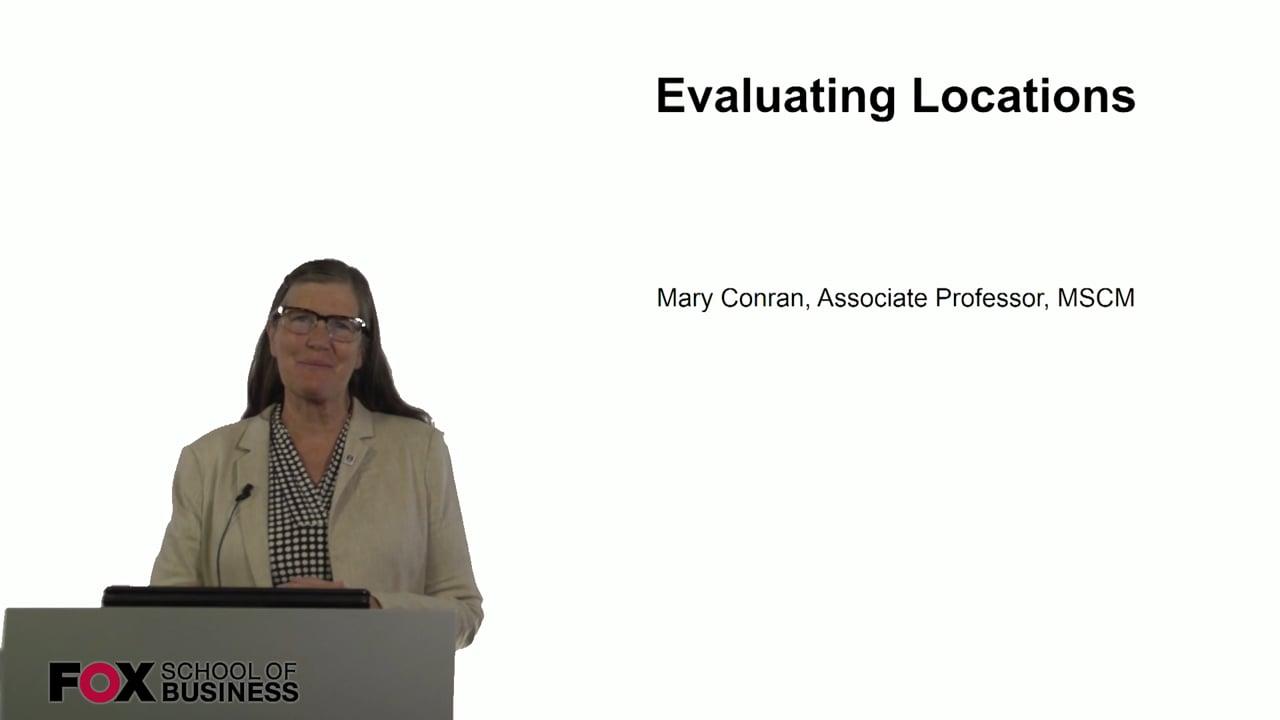 60847Evaluating Locations