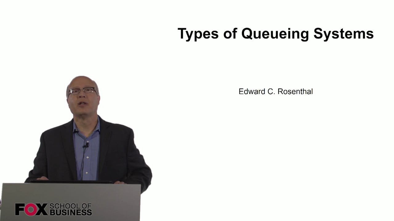 60848Types of Queueing Systems