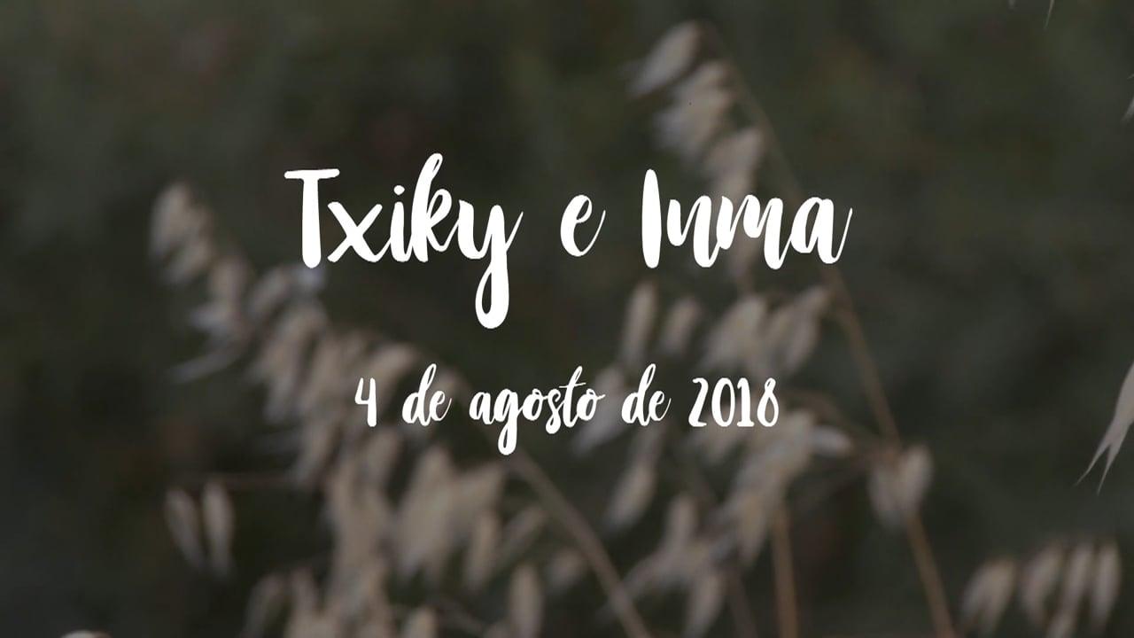Txiky e Inma   4 de agosto de 2018   Preboda + SDE