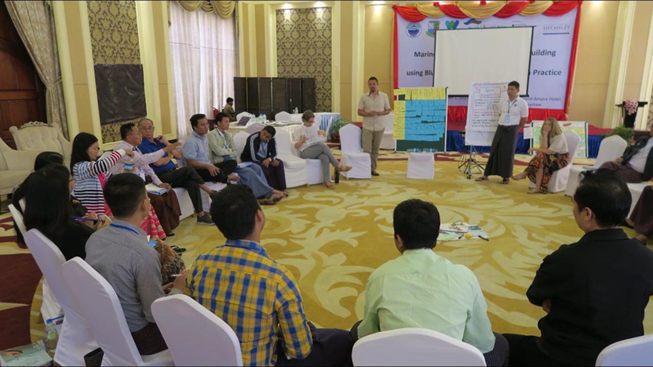 Kyaw Thinn Latt, about MSP training in Myanmar