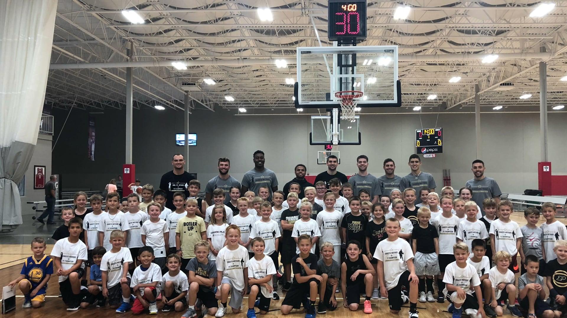 2018 Dakota Mathias & PJ Thompson Basketball Camps- Indy