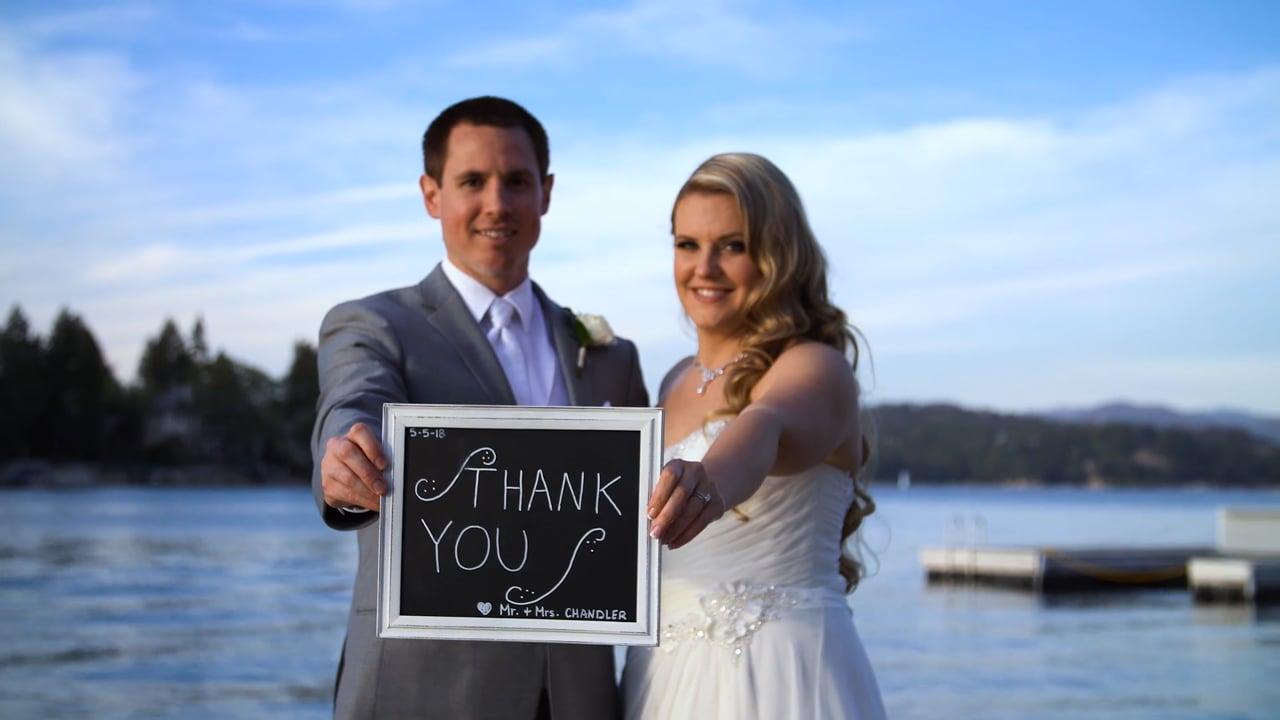 "Marie + Nolan ~ ""Somethin I'm Good At"" Lake Arrowhead Resort Wedding Video"