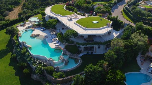 Inviting villa with seaview in Porto Cervo