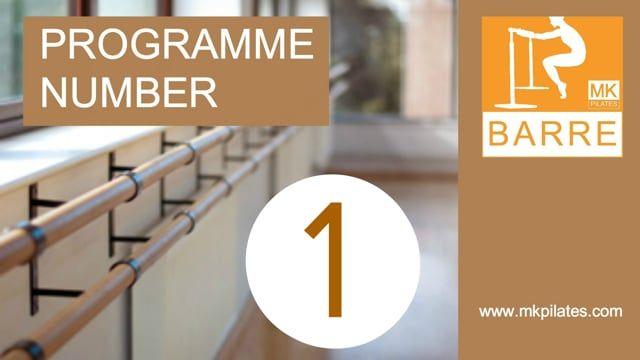 MK Barre Programme 01 - On-Demand