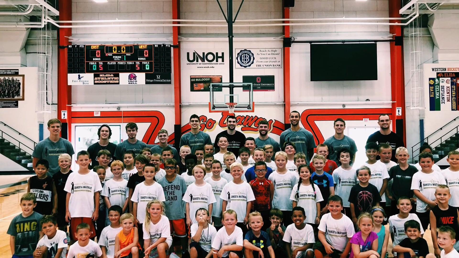 2018 Dakota Mathias Basketball Camps- Elida, OH