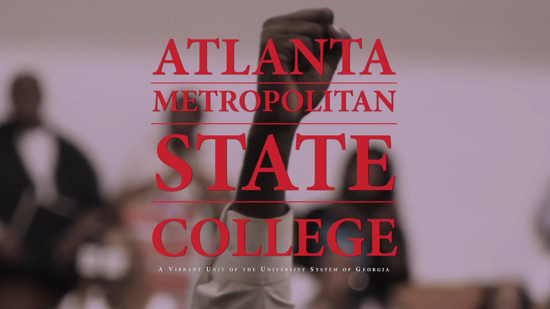 You Did It! - Atlanta Metropolitan State College