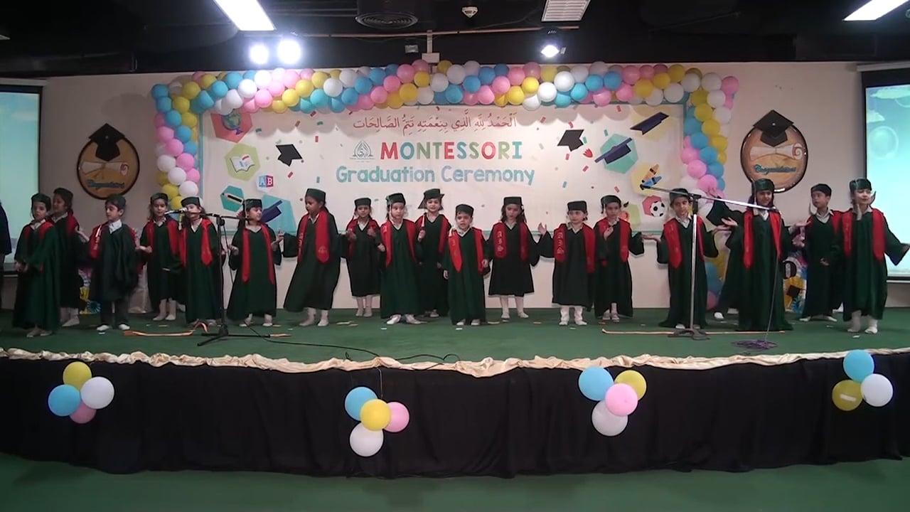 PreSchool and Montessori Graduation Ceremony 2018 (H-11 Campus)