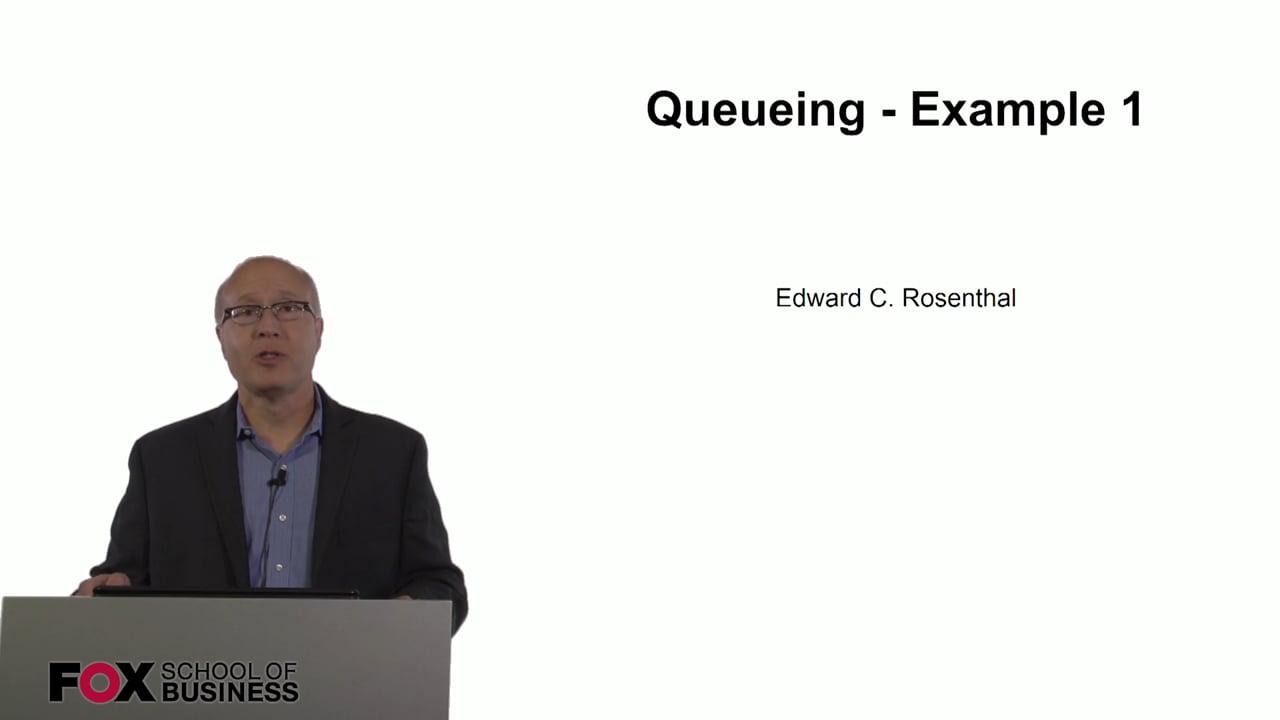 60792Queueing – Example 1