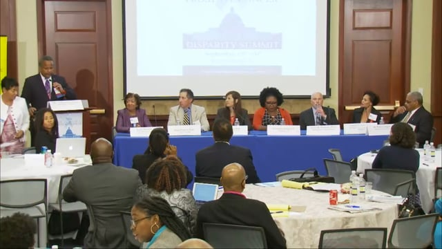 Panel Discussion on Increasing African American Participation in Clinical Trials with Dr. Edith Mitchell, Dr. Steven Patierno, Mr. Paul Covington…